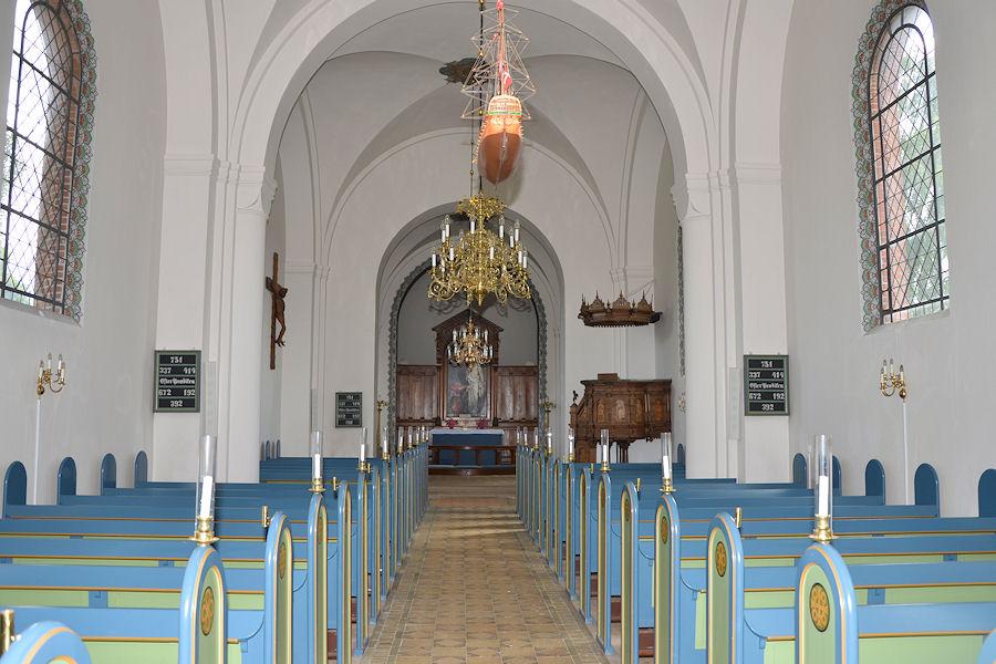 Ugerløse Kirke, Holbæk Provsti. All © copyright Jens Kinkel