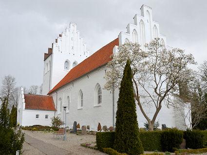 Snoldelev Kirke, Roskilde Domprovsti. All © copyright Jens Kinkel